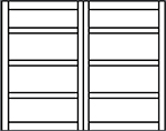 savannah monitor coloring pages | Carriage House Steel Garage Doors 6600