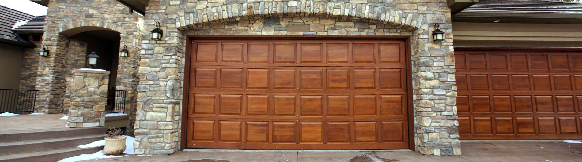 Lovely Wood Garage Door