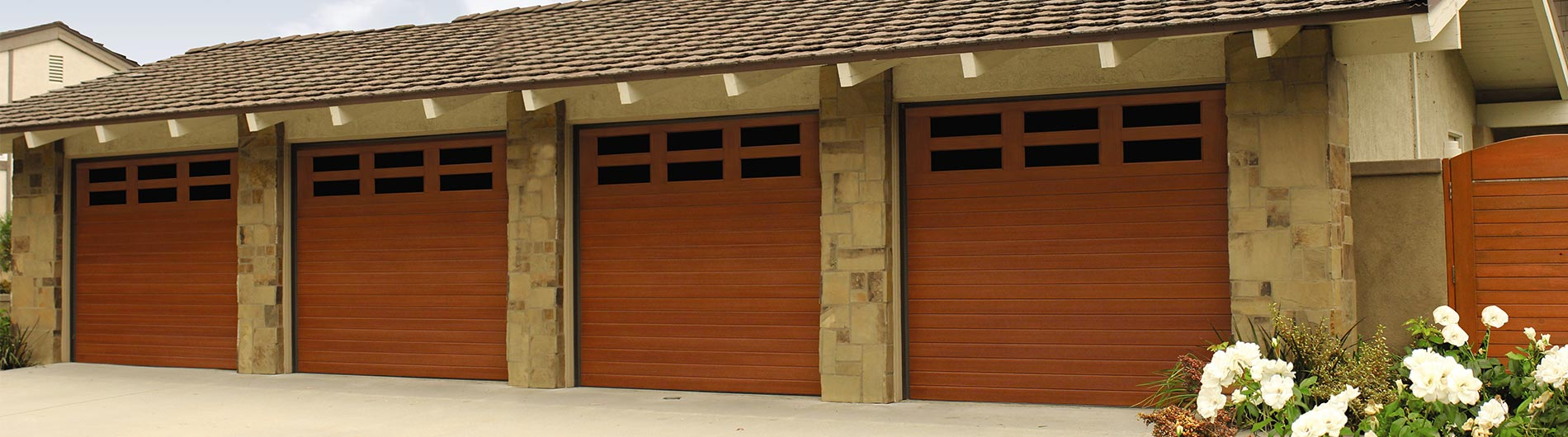 wood garage door builderFiberglass Garage Doors 9800