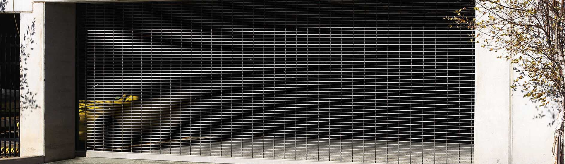 parking garage grille doors