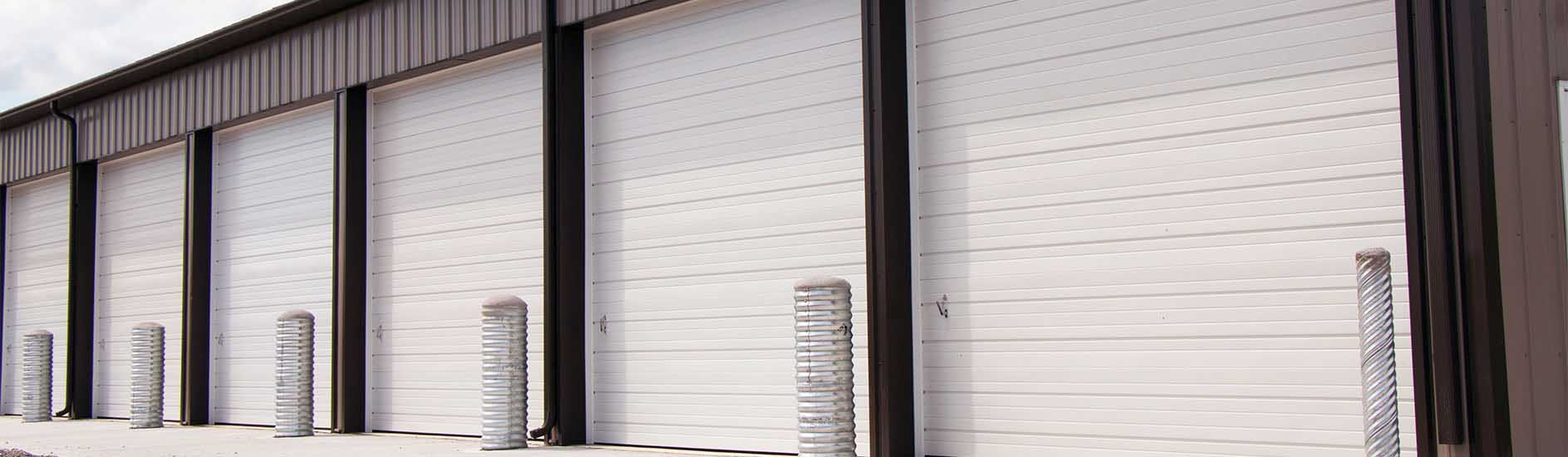 Commercial overhead garage door - Non Insulated Steel Doors