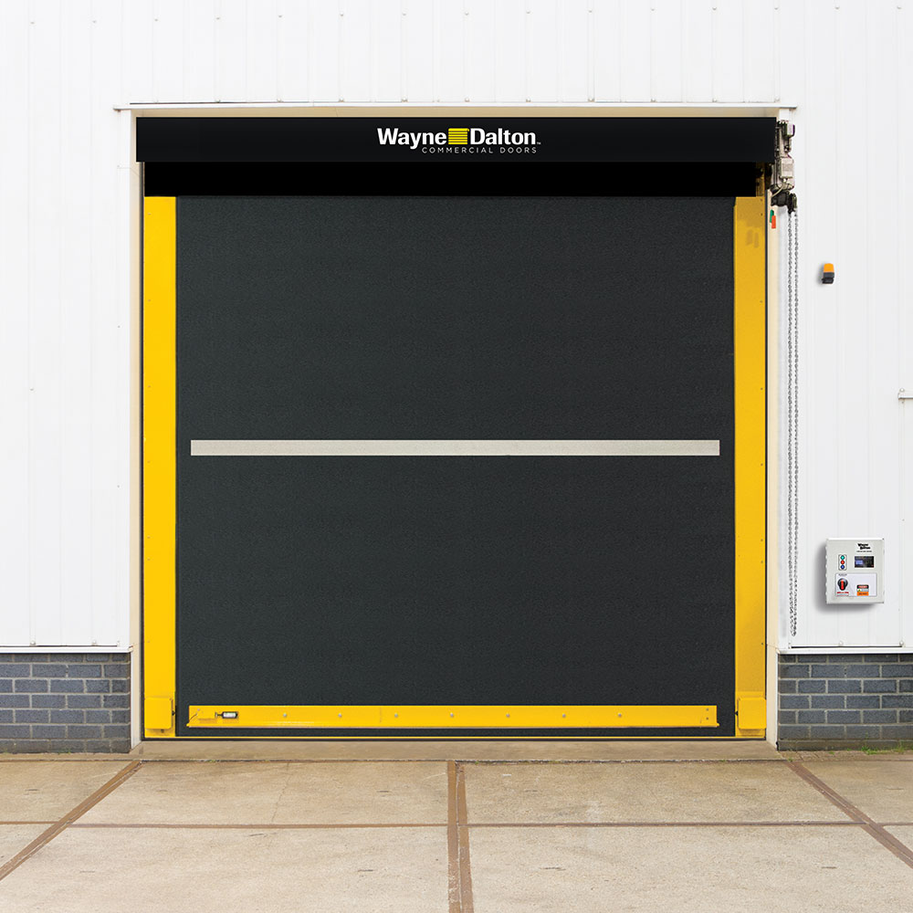 exterior high speed rubber door