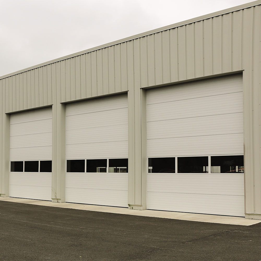 Insulated Sectional Steel Door model 150