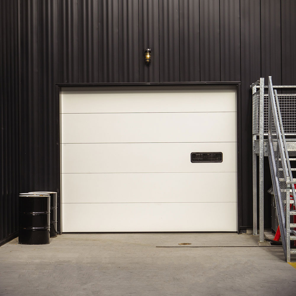 Insulated Sectional Steel Door model 200-20