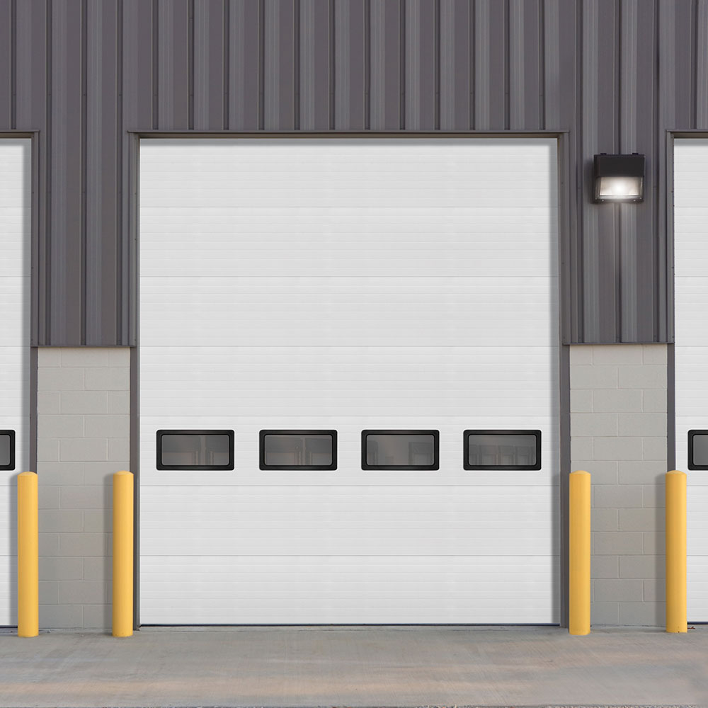 Insulated Sectional Steel Door model 530