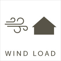 garage door wind load