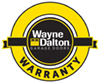 garage door warranty seal