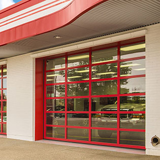 commercial aluminum door
