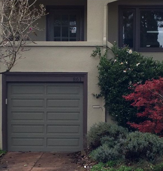 Before and After from Golden Gate Overhead Garage Door Co.