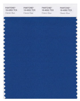 Color Trends 2020 includes Pantone Classic Blue Color