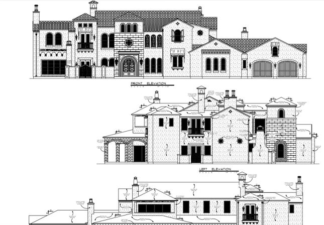 dallas showhouse plans in southlake