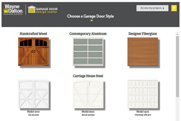 garage door design center