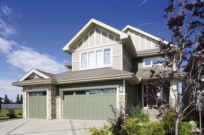 Shades Of Green For Garage Doors