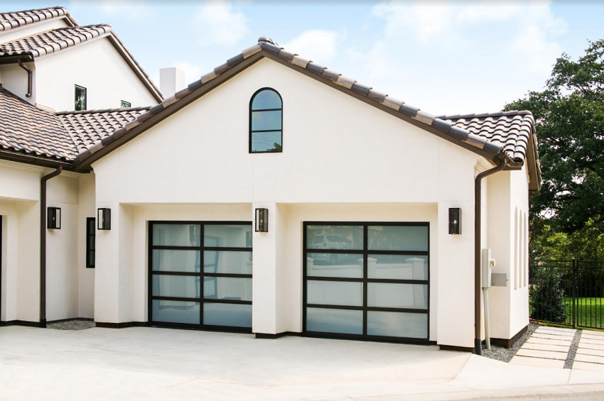 Garage Doors On Dallas Showhouse