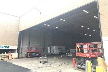 largest powder coated rolling door