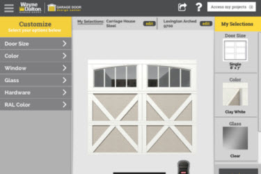 new garage door app