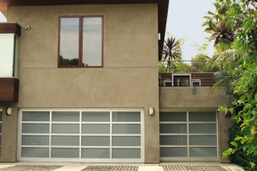 modern house garage door