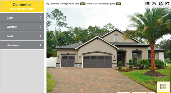 Garage Door Design Center Apps