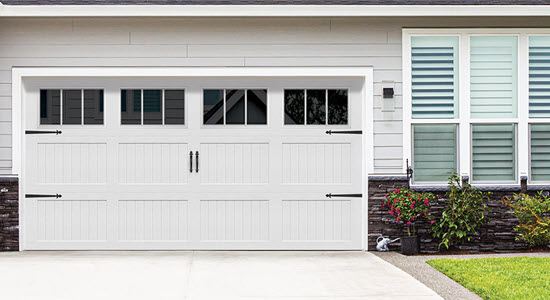 Designer Steel Garage Door
