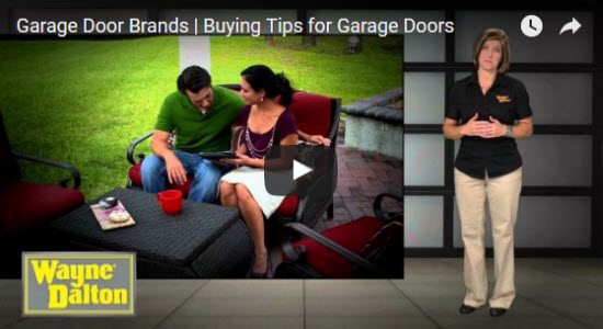 garage door buying tips