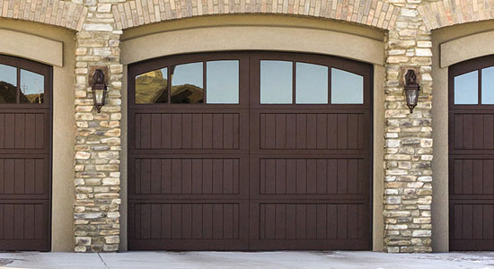 High Quality Wood Garage Doors 7100