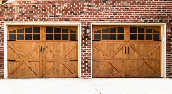 wood garage doors 7400-series