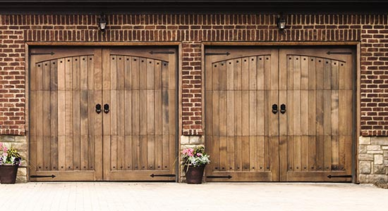 Custom Wood Garage Door