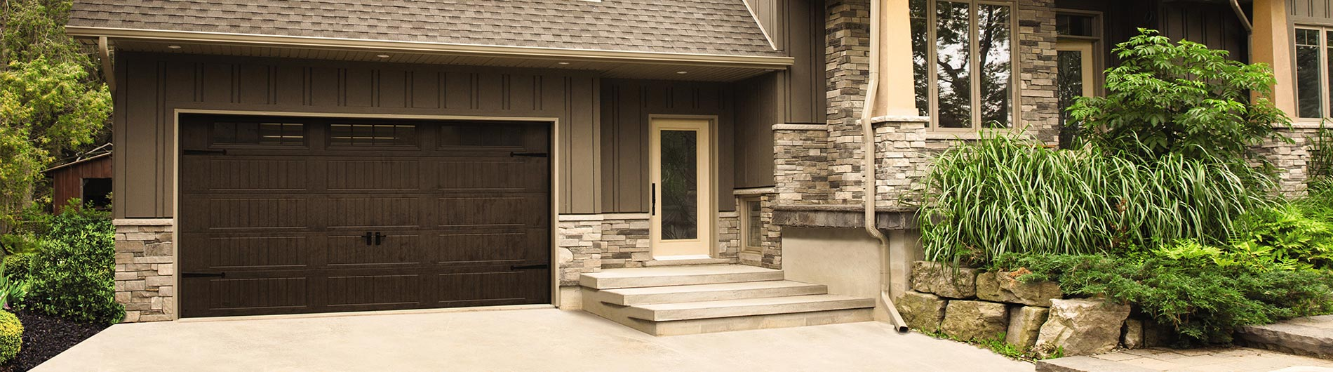brown dark yodle garage link portfolio door doors darkbrownclassica our residential