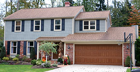 garage door styles for colonial colonial home style homestyles