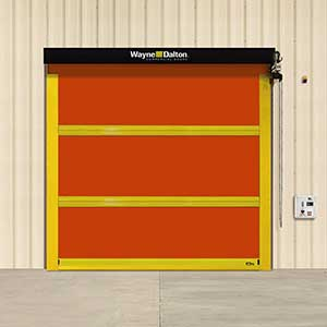 heaviest fabric door, heavy high speed door