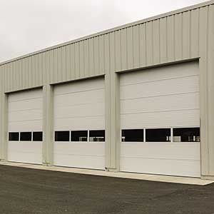Insulated Sectional Steel Door 150