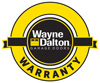 warranty seal for specialty vinyl garage door