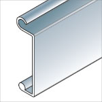 slat profile for rolling counter shutters